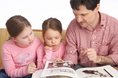 Familienleben Lizenzfreies Stockbild