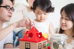 Familienlebensstil Lizenzfreies Stockfoto