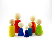 Familienmitglieder Lizenzfreies Stockfoto