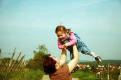 Familienmomente Lizenzfreie Stockfotografie