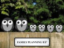 Familienplanung Lizenzfreie Stockfotografie