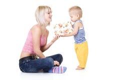 Familienportrait Lizenzfreies Stockfoto