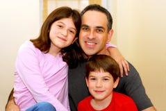 Familienportrait Lizenzfreie Stockfotografie