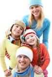 Familienportrait lizenzfreie stockfotos