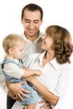 Familienportrait Lizenzfreies Stockbild