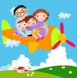 Familienreise vektor abbildung