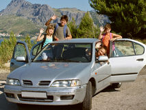 Familienreise lizenzfreies stockfoto