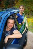 Familienreise Lizenzfreies Stockbild
