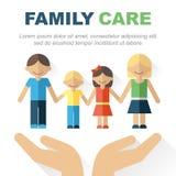 Familiensorgfalt Stockbilder