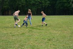 Familienspiel 1 Lizenzfreie Stockfotos