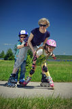 Familiensport Lizenzfreies Stockbild