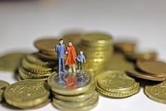 Familiensteuern Lizenzfreies Stockfoto
