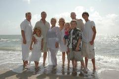 Familientreffen Stockbilder