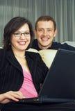 Familienunternehmen Stockfoto