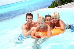 Familienurlaub Lizenzfreie Stockfotografie