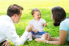 Familienzeit Lizenzfreie Stockfotografie