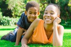 Familienzeit Lizenzfreie Stockfotos