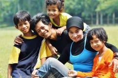 Familienzeiten lizenzfreie stockbilder