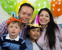 Familiepartij birthday& x27; s dag Royalty-vrije Stock Afbeelding