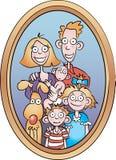 Familieportret Stock Afbeelding