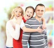 Familieportret royalty-vrije stock foto's