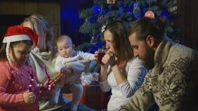 Families celebrate Christmas