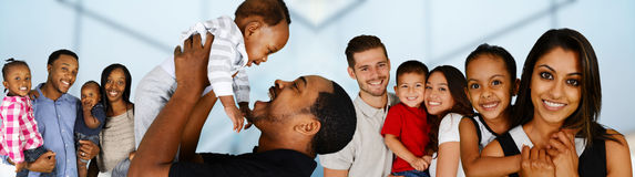 Families Royalty Free Stock Photography