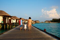 Families vacation in Mauritius Island