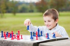 Familieschaak Royalty-vrije Stock Fotografie