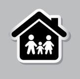 Familieverzekering Royalty-vrije Stock Afbeelding
