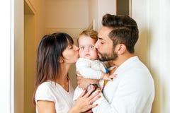 Familiy felice Immagini Stock
