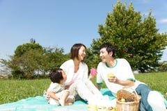 Familiy-Picknick Stockbilder