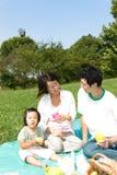 Familiy pinkin Fotografia Stock