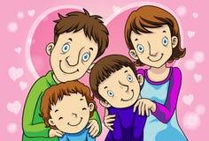 familjämne Royaltyfri Bild