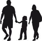 familj stock illustrationer