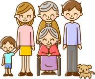 familj Royaltyfri Foto