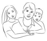 Familj. Arkivfoton