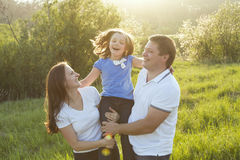 Familj Royaltyfri Bild