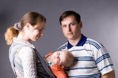familj Arkivfoton