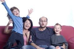 familj Royaltyfria Foton