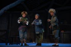 """Familj av den fattiga folk-Peking operan som """"Taking Tiger Montain By Strategyâ € Fotografering för Bildbyråer"""