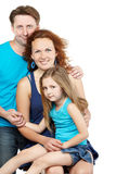 Familj av tre Royaltyfri Bild
