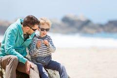 Familj i Kalifornien fotografering för bildbyråer