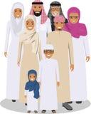 Familj- och samkvämbegrepp royaltyfri illustrationer