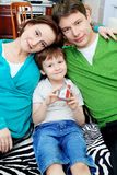 familj tillsammans Arkivfoto