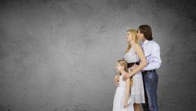 familj tre Royaltyfria Bilder