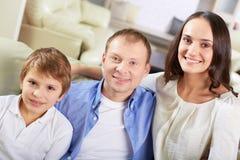 familj tre Royaltyfri Bild