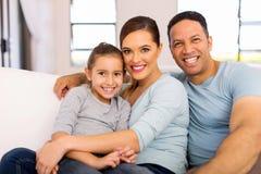 familj tre Royaltyfri Fotografi