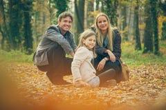 familj tre Royaltyfria Foton