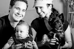 familjbarn Royaltyfri Foto